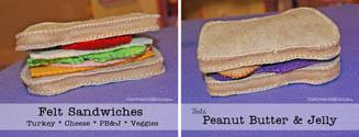 Felt Sandwiches