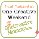 "Featured on One Creative Weekend"" width="