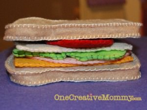 Felt Sandwich with all the fixings!
