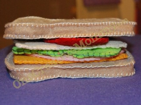 Felt Turkey Sandwich