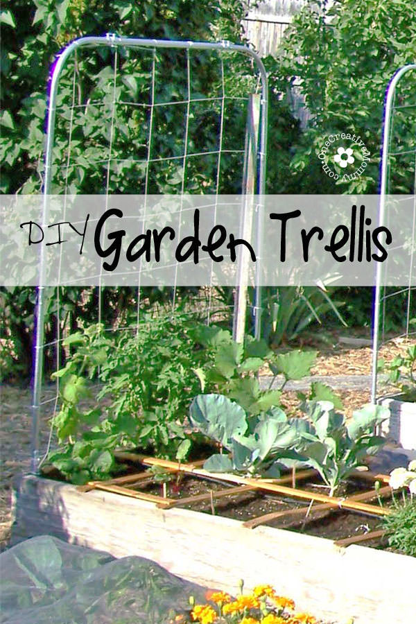 Expand Your Garden Upward With A DIY Garden Trellis! {Picture Filled  Tutorial From
