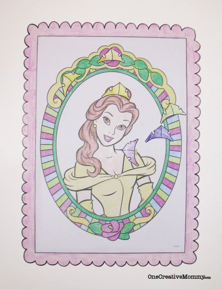 Princess Birthday Party Ideas: Tutorials for Invitations, Jeweled Goblets, a Pinata Quest, Pin-the-Crown on the Princess, Jeweled Treasure Boxes, & Slay-the-Dragon Bean Bag Toss {OneCreativeMommy.com}