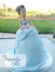 Fondant Princess Cake Tutorial