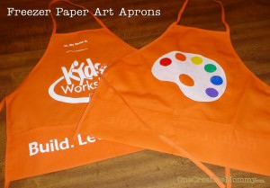 Home Improvement Apron to Art Apron