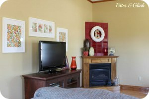 Living Room Makeover from Pitter&Glink
