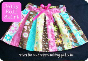 Jelly Roll Skirt