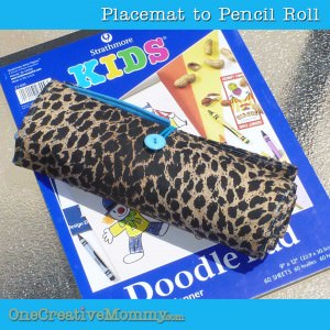 Pencil Roll Gift Idea