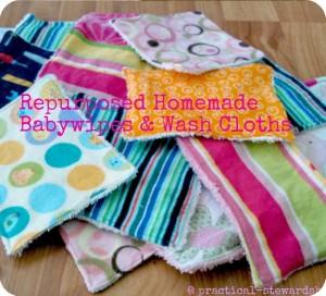 DIY Baby Wipes or Washcloths