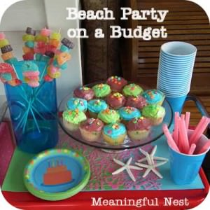 Beach Party from Meaningful Nest