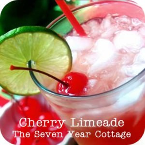 Cherry Limeade from the Seven Year Cottage