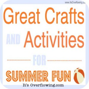 Summer Craft and Activities Collection