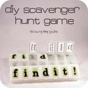 DIY Scavenger Hunt Game