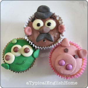 Toy Story Cupcakes from A Typical English Home