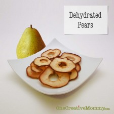 Dried Pears Tutorial