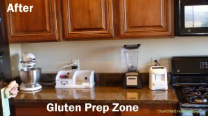 New Gluten-Prep Zone