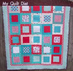 Valentine Quilt from My Quilt Diet