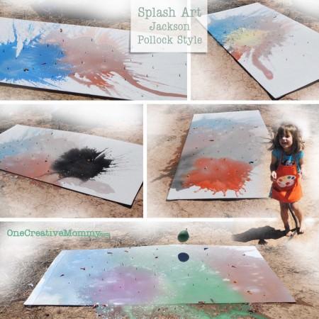 Splash Art! (Jackson Pollock Style)