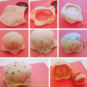 Steps for Making Ice Cream scoops Part 3