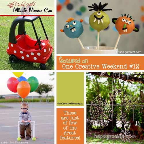 One Creative Weekend Week 12 Features {OneCreativeMommy.com}