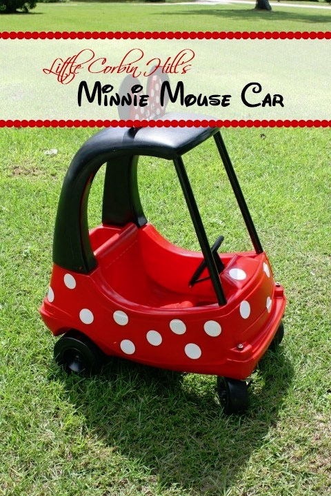 Cozie Coup Minnie Mouse Car