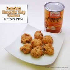 Gluten-Free Mini Pumpkin Chocolate Chip Cookies