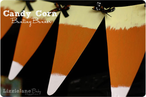 25 Candy Corn Projects to Brighten Your Day--Candy Corn Bunting