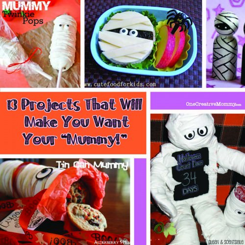 13 Mummy Projects