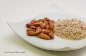 DIY Almond Flour--Almond flour is sooo expensive!  Save money and grind your own. It's so yummy!