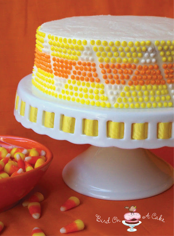 25 Candy Corn Projects to Brighten Your Day--Candy Corn Cake