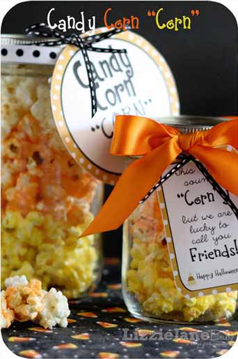 25 Candy Corn Projects to Brighten Your Day--Candy Corn Popcorn