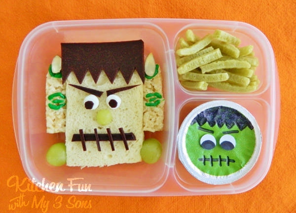 10 Monstrously Fun Projects Perfect for Halloween! {OneCreativeMommy.com} See the original on  Kitchen Fun with My Three Sons