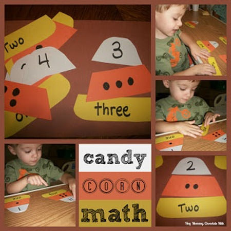 25 Candy Corn Projects to Brighten Your Day--Candy Corn Math Game