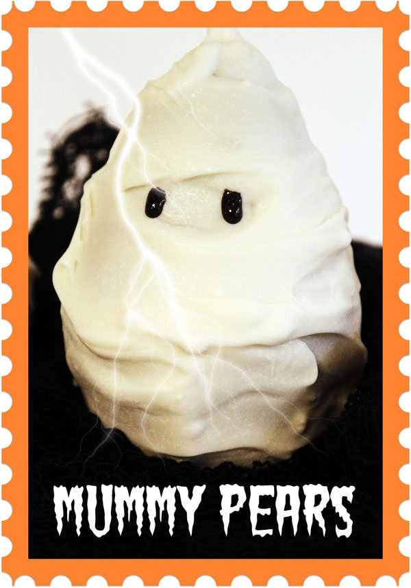 Halloween Mummy Crafts on OneCreativeMommy.com {Find the full project on  Literally Inspired}