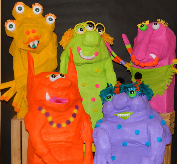 10 Monstrously Fun Projects Perfect for Halloween! {OneCreativeMommy.com} See the original on What Happens At Grandma's