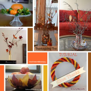Six Festive Fall Decor Ideas {Roundup}
