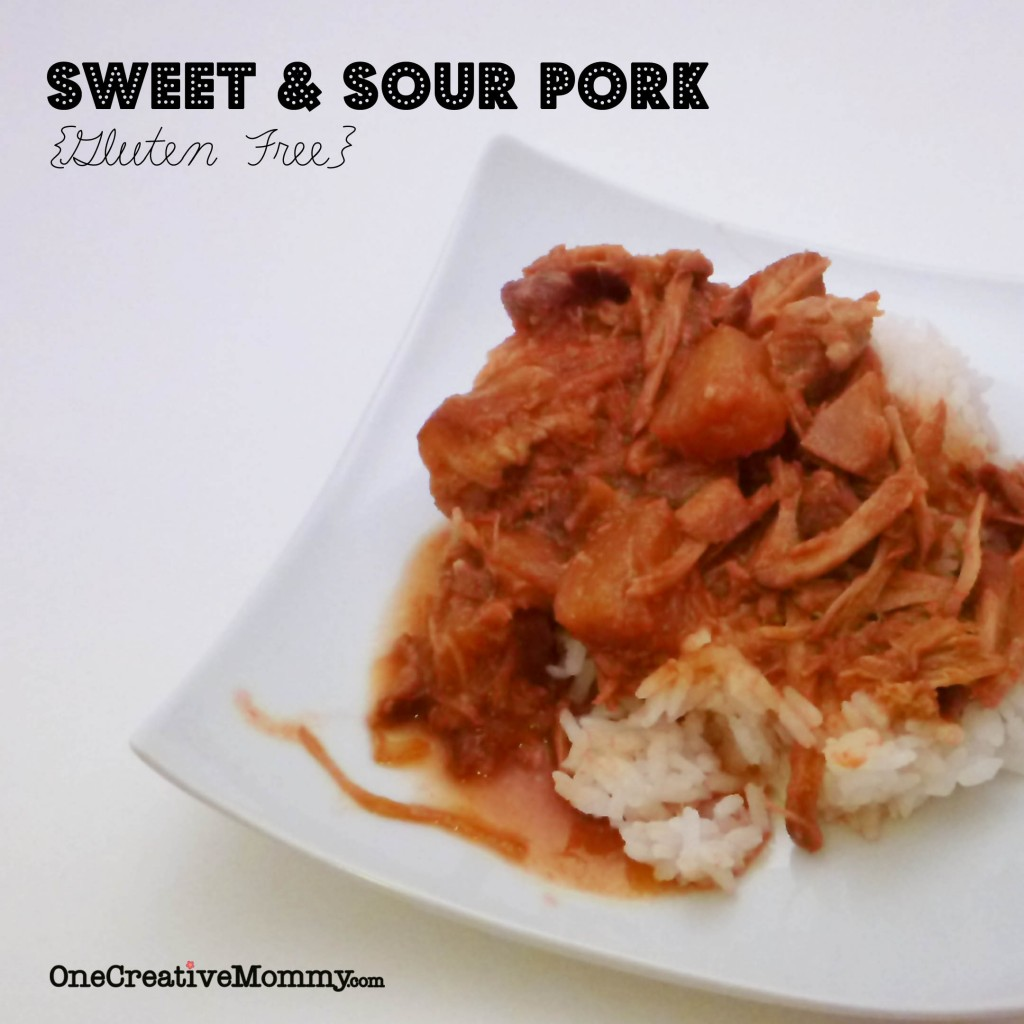 Sweet and Sour Pork--comfort food that's easily gluten free!