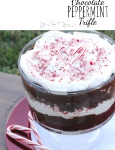 Amazingly Good Chocolate Peppermint Trifle