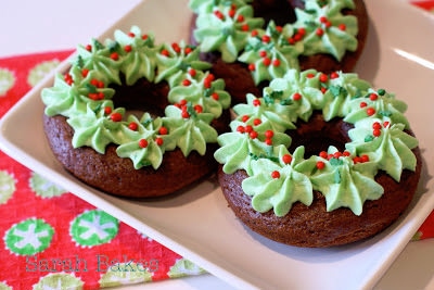 Gluten Free Christmas Donuts from Sarah Bakes