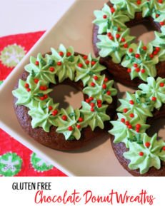 Delicious Gluten Free Donuts for Christmas