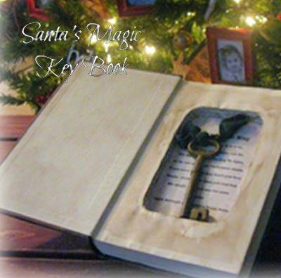 12 Days of Christmas Day 7 {Santa's Magic Key Book}