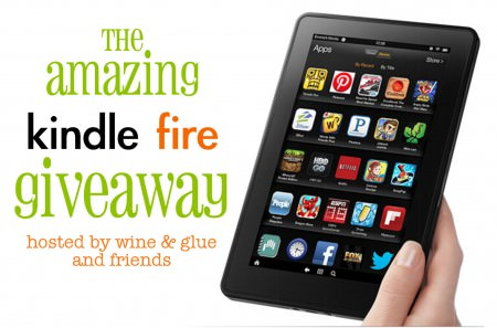 Kindle Fire Giveaway--Enter on OneCreativeMommy.com to win a Kindle Fire and $50 to load it up!