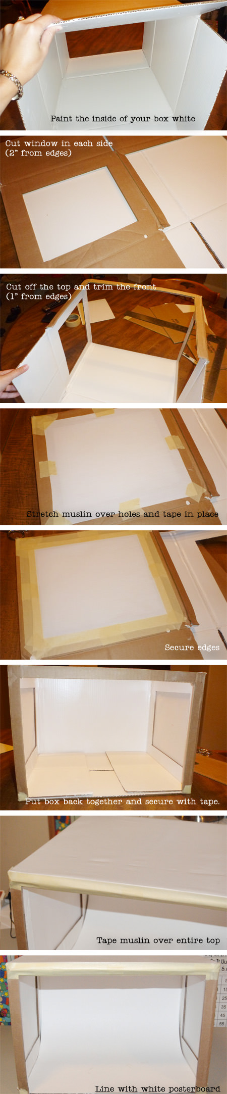 DIY Photo Lightbox Tutorial from OneCreativeMommy.com--grow your blog with better pictures!