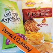 Snikiddy Snacks Review and Giveaway