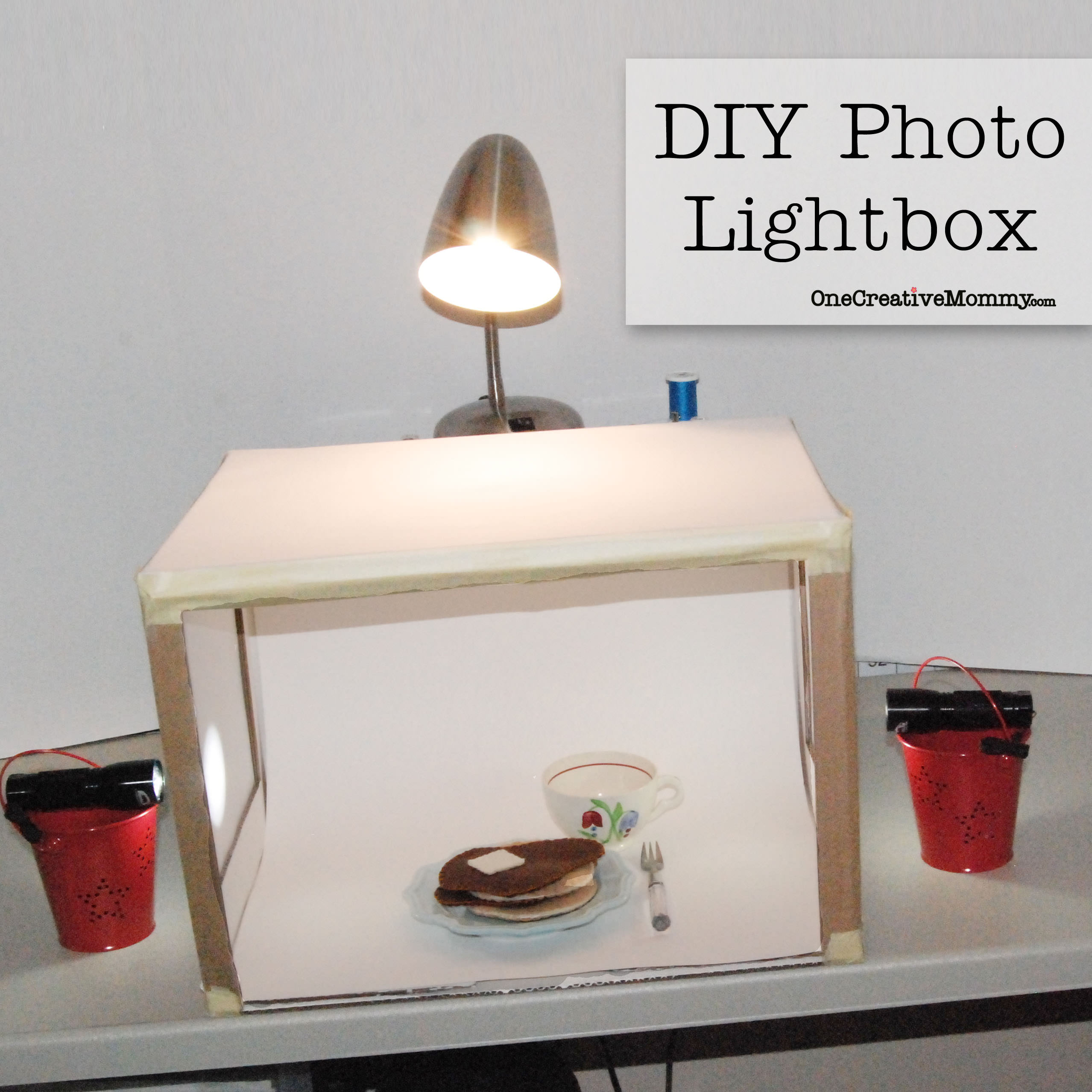 grow your blog series diy lightbox. Black Bedroom Furniture Sets. Home Design Ideas