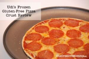 Udi's Gluten Free Frozen Pizza Crust Review