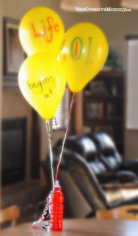 #40th #Birthday {Life Begins at 40! Silly #Party Theme}