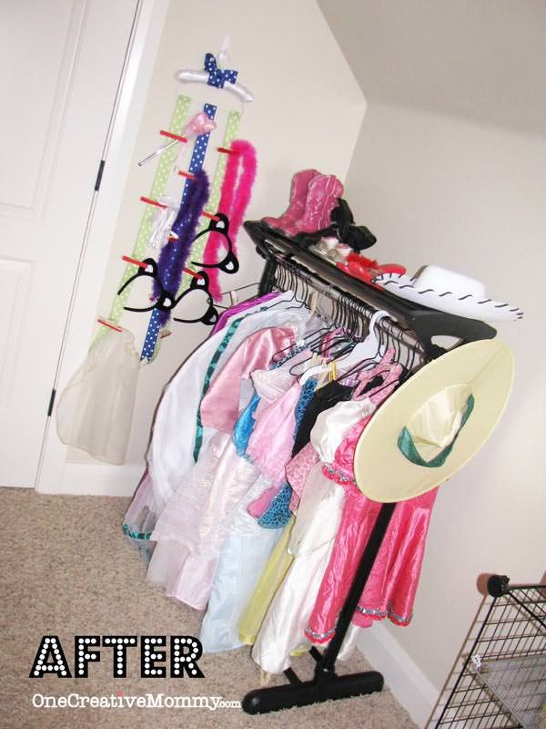 Charmant DIY Dress Up Storage Ideas For Kids