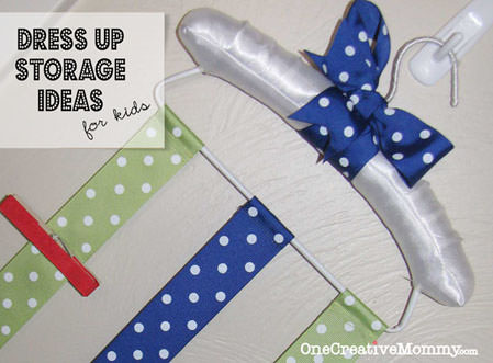 #DIY #Dress Up #Storage Ideas for #Kids