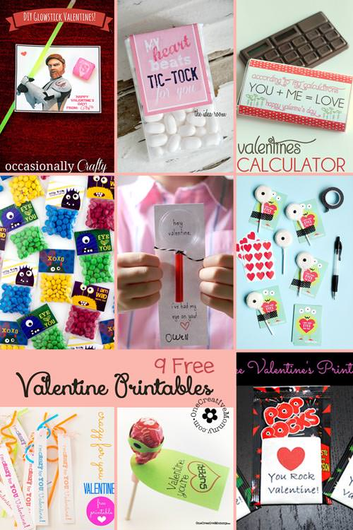 picture about Funny Printable Valentines named My Amusing Valentine9 Printable Valentine Guidelines