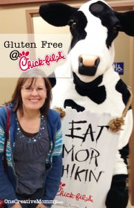 You can eat Gluten Free at Chic-Fil-A!